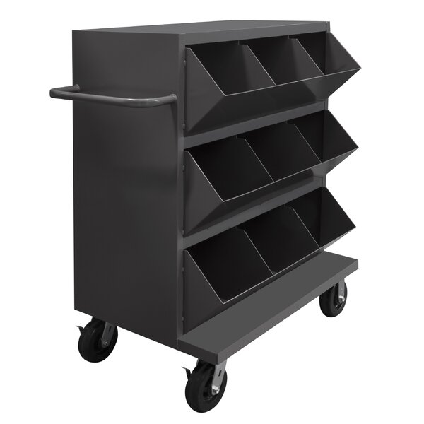 Mobile Storage Shelving Unit by Durham Manufacturing