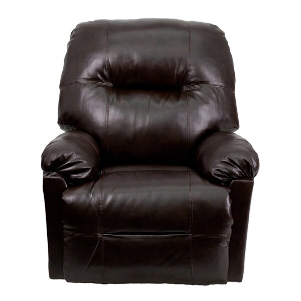 Dunkirk Chaise Faux Leather Manual Recliner RDBL6247
