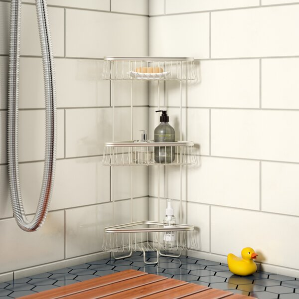 Eisenman Shower Caddy by Rebrilliant