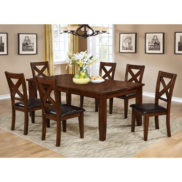 Jovany 7 Piece Extendable Dining Table Set by Red Barrel Studio