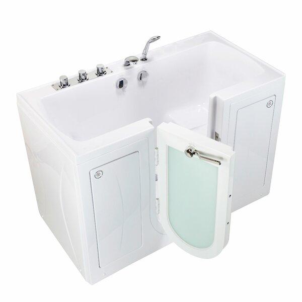 Tub4Two 60 x 30 Walk-in Combination Bathtub by Ella Walk In Baths