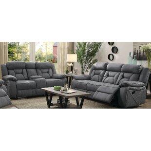 Estevao Motion 2 Piece Reclining Living Room Set by Latitude Run®