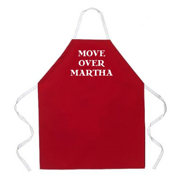 Move Over Martha Apron by Attitude Aprons by L.A. Imprints