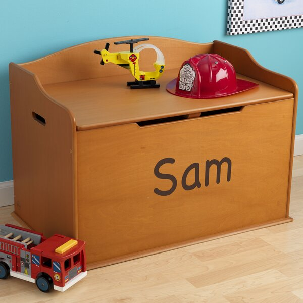 Personalized Austin Honey Toy Box by KidKraft