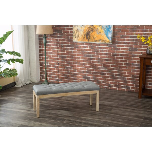 Hillcroft Wood Bench by Bungalow Rose