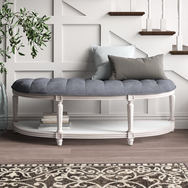 Ziegler Upholstered Bench by One Allium Way