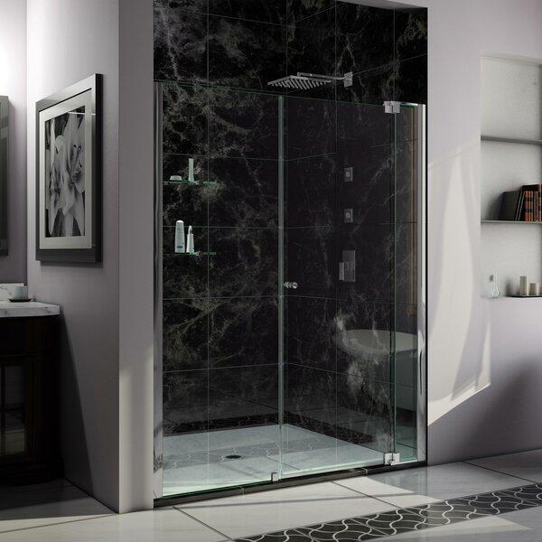 Allure 64 x 73 Pivot Frameless Shower Door by DreamLine