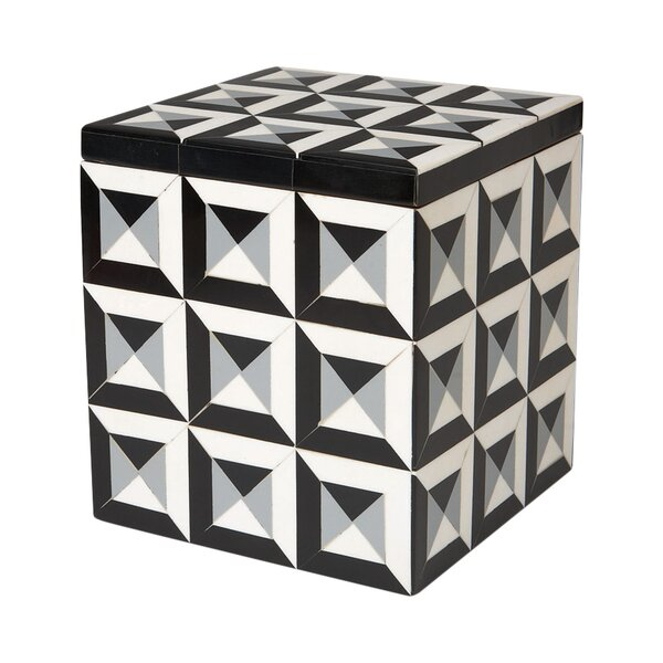 Deco Border Storage Box by DwellStudio