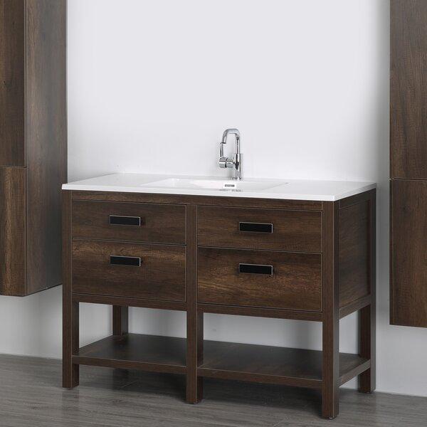 47 Single Bathroom Vanity Set by Streamline Bath