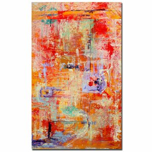 Odessy by Pat Saunders-White Framed Painting Print on Wrapped Canvas by Trademark Fine Art