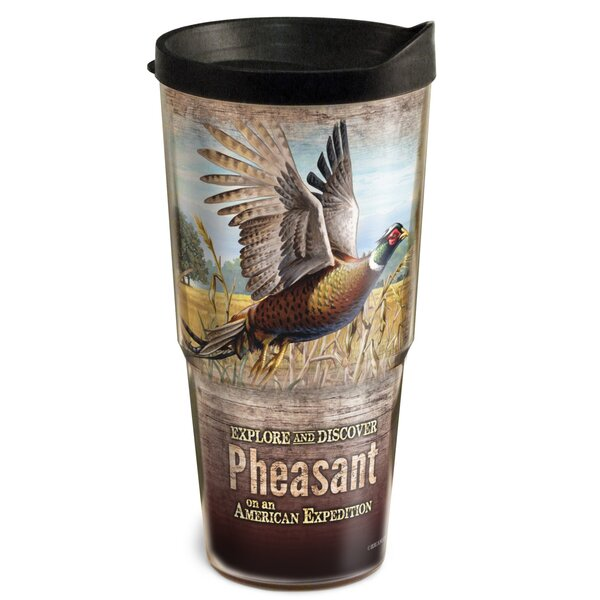 Pheasant Wildlife 2-Tier 24 oz. Plastic Travel Tumbler by American Expedition
