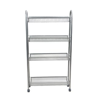 4 Tier Slim and Tall Bar Cart by Mind Reader