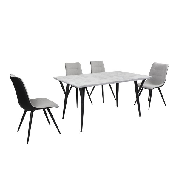 Beckman 5 Piece Dining Set by Ivy Bronx