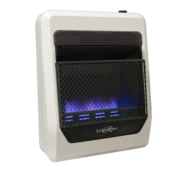 Lost River Dual Fuel Ventless Radiant Plaque Space Heater Natural Gas And Propane Infrared Wall Mounted Heater With Automatic Thermostat By ProCom