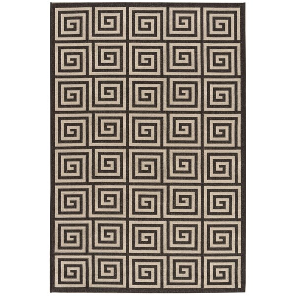 Horne Cream/Brown Area Rug by Brayden Studio