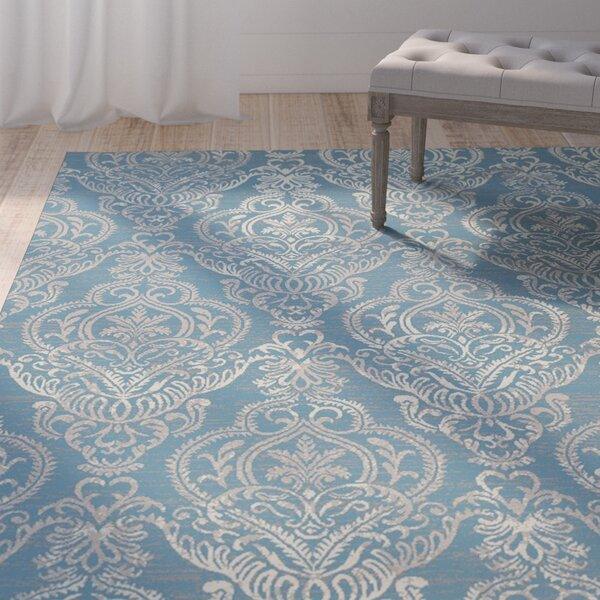 Tannen Blue Area Rug by One Allium Way