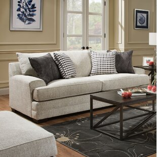Henthorn Chenille 89 Square Arm Sofa by Alcott Hill