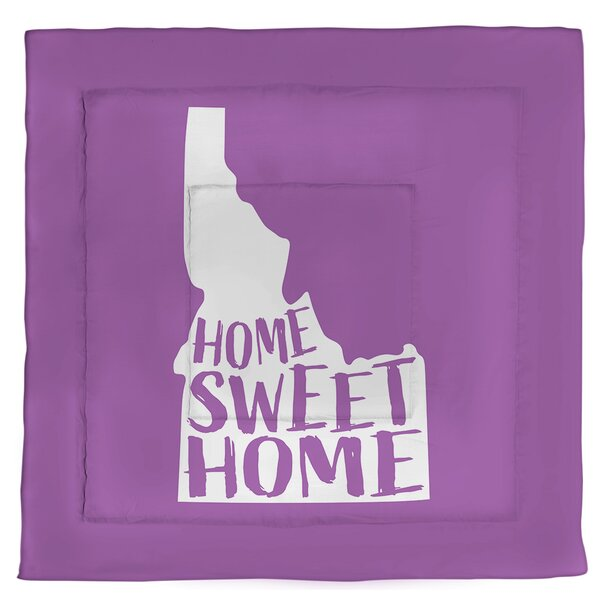 Idaho Home Sweet Single Reversible Comforter