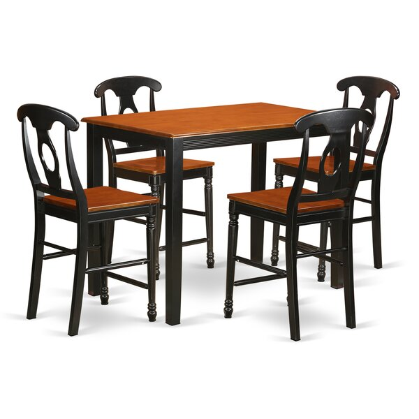 Socha 36-inch 5 Piece Pub Table Set by Charlton Home Charlton Home