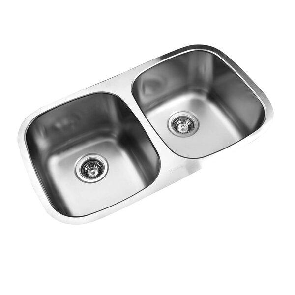 Buy Now Granite Composite 33 L X 22 W Double Basin