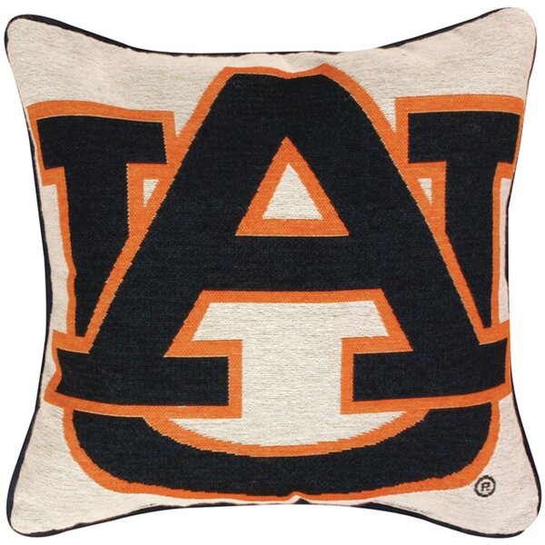 NCAA Throw Pillow by Manual Woodworkers & Weavers