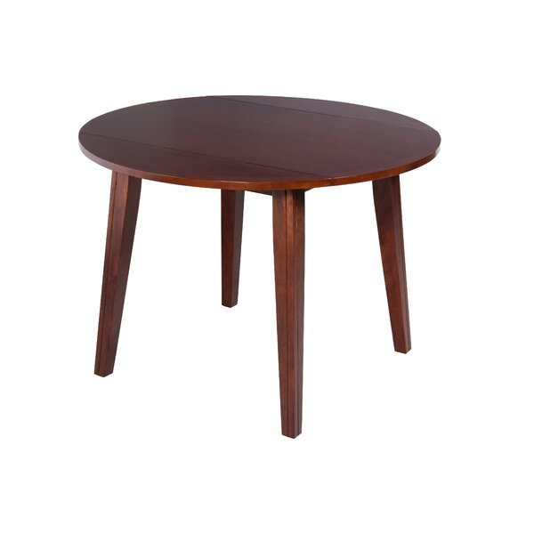 Caroline Drop Leaf Soilid Wood Dining Table by TTP Furnish