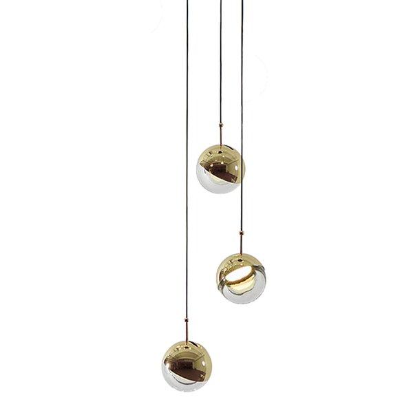 Dora 3-Light Cluster Pendant by Seed Design