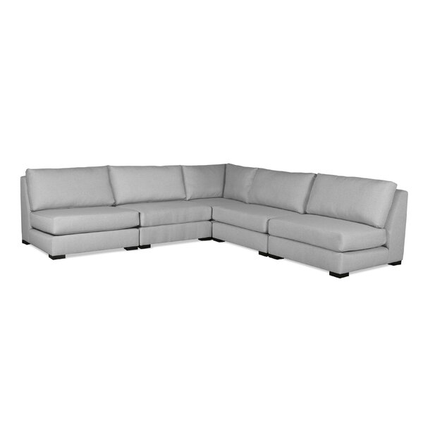 Glaude Plush Deep Modular Sectional by Brayden Studio Brayden Studio