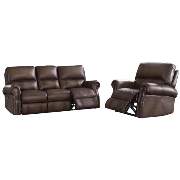 Online Purchase Bassler 2 Piece Reclining Living Room Set by Alcott Hill by Alcott Hill