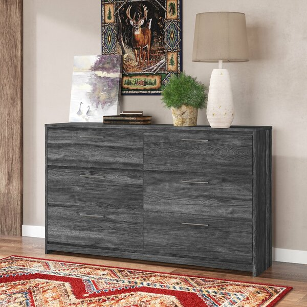 Bolling 6 Drawer Double Dresser by Foundry Select
