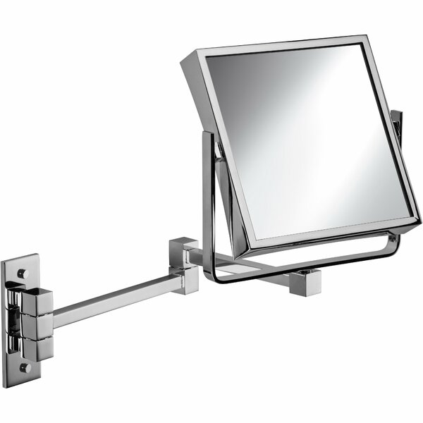 Maize Double-Sided Extendable Makeup/Shaving Mirror by Latitude Run