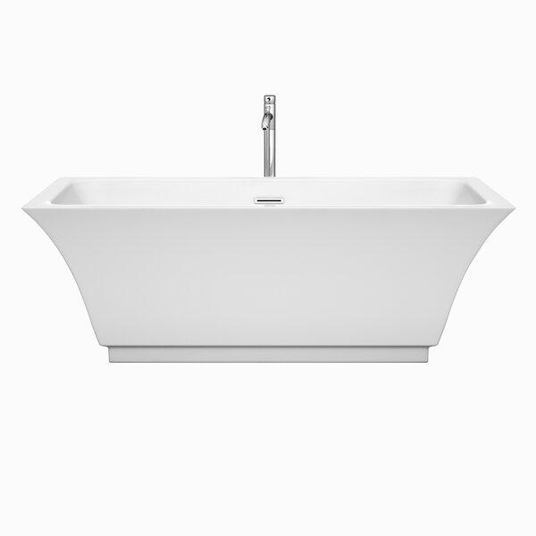 Galina 67 x 31.25 Soaking Bathtub by Wyndham Collection