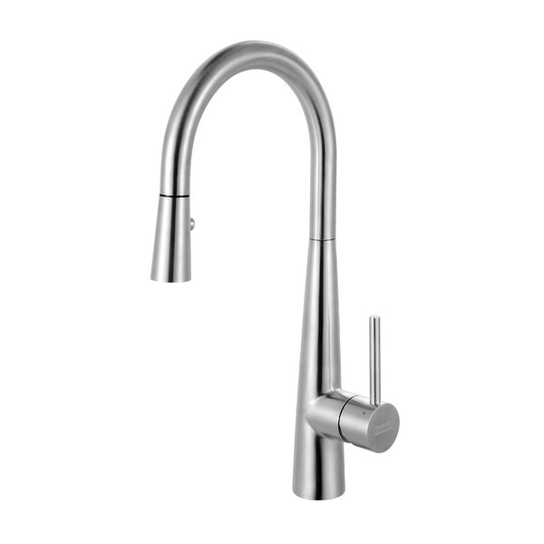 Pull Out Single Handle Kitchen Faucet by Franke