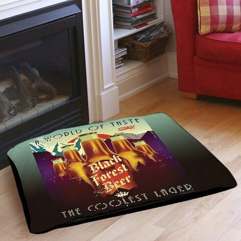 Black Forest Beer Indoor/Outdoor Pet Bed by Manual Woodworkers & Weavers