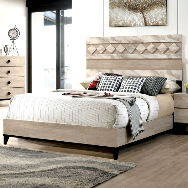 Cortez Wooden Platform Bed By Gracie Oaks by Gracie Oaks Modern