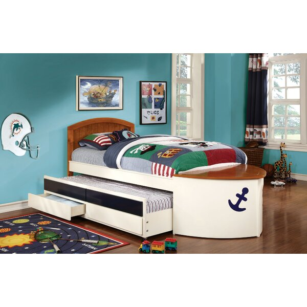 Twin Mate's & Captain's Bed with Trundle and Drawer by Hokku Designs