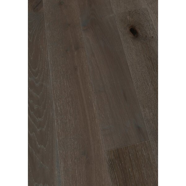 7.5 Engineered Oak Hardwood Flooring in Brushed Wet Granite by Maritime Hardwood Floors