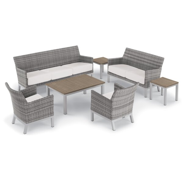 Saint-Pierre 7 Piece Lounge Rattan Sofa Set With Cushions By Brayden Studio