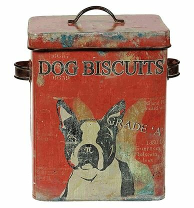 Dog Biscuit Container by Trent Austin Design