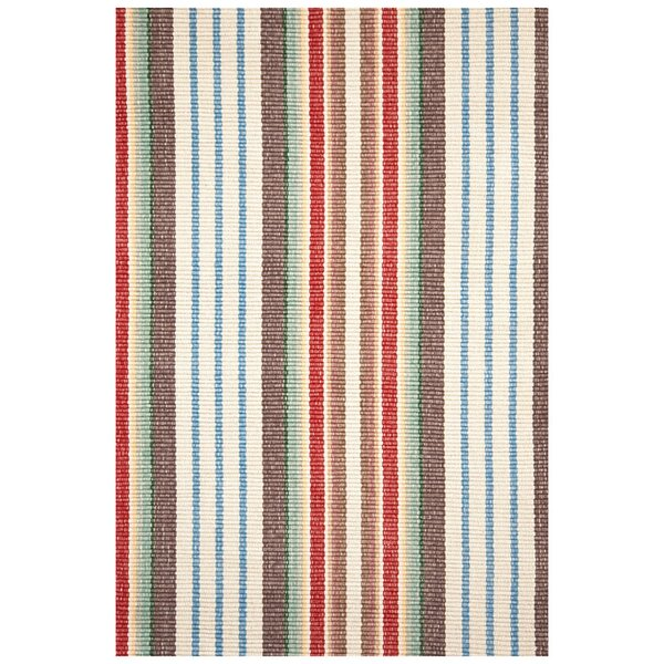 Hand Woven Cotton Area Rug by Dash and Albert Rugs