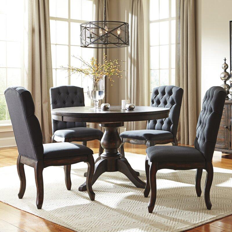 5 Piece Dining Sets loon peak baxter 5 piece dining set & reviews | wayfair