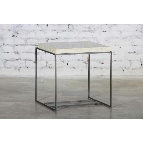Starrett Antique Zinc End Table by Brayden Studio