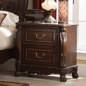 Goodge 2 Drawer Nightstand by Astoria Grand
