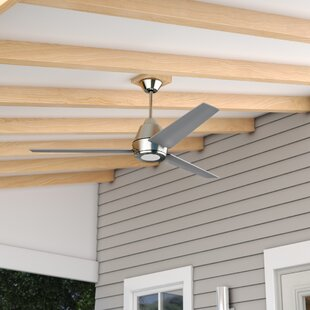 Affordable Price 56 Parkside 3 Blade Outdoor Ceiling Fan By Wade Logan