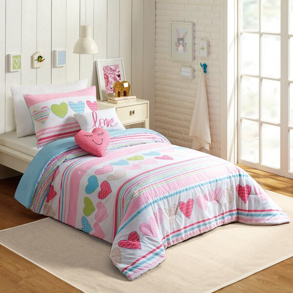 Glen 5 Piece Comforter Set by Harriet Bee
