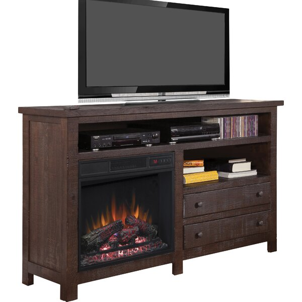 Hidalgo 60 TV Stand with Fireplace by Loon Peak