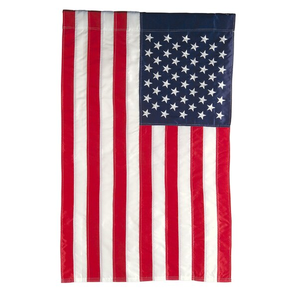 American 2-Sided Vertical Flag by Evergreen Flag & Garden