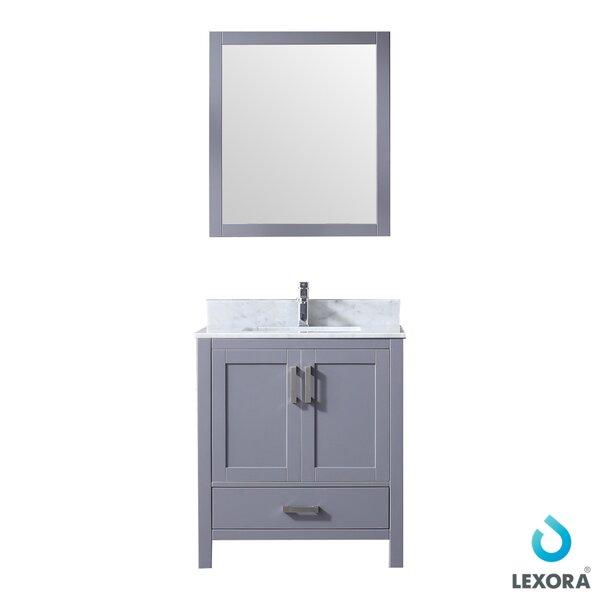 Michaella 30 Single Bathroom Vanity Set  with Mirror