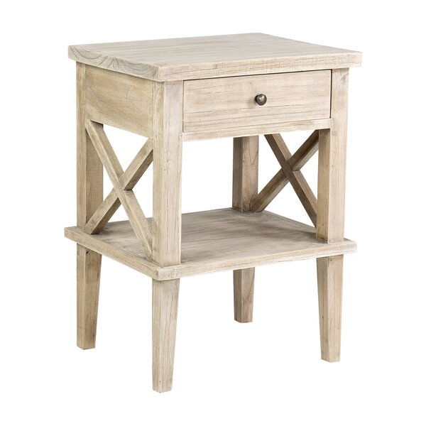 Destrey Mindi Wood End Table By Rosalind Wheeler