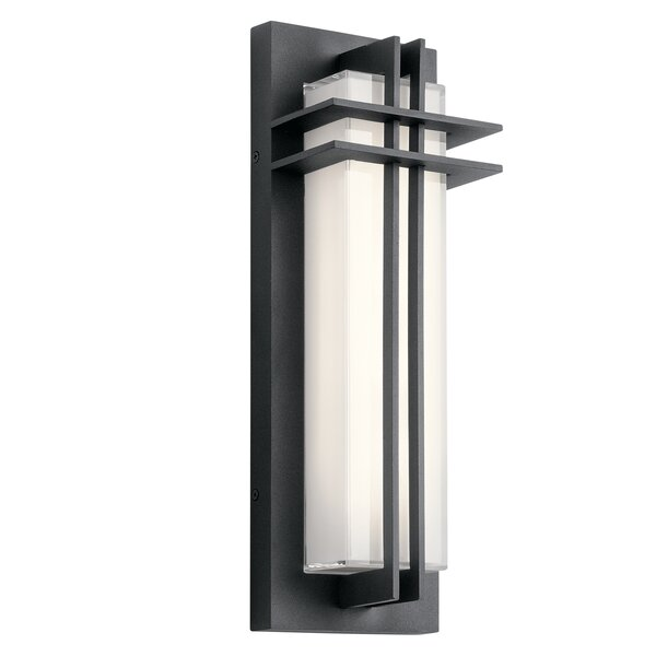 Heitz LED Outdoor Flush Mount by Bloomsbury Market